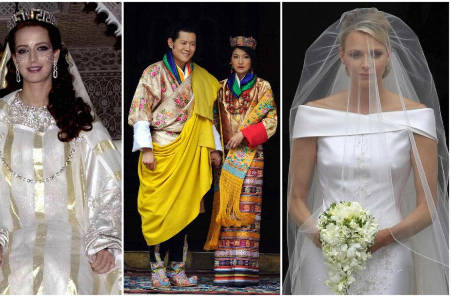 Brunėjaus, Maroko, Butano ir Monako karališkosios nuotakos