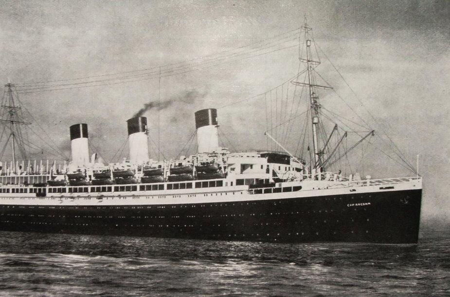 """""""Cap Arcona"""" (1927 m.)"""