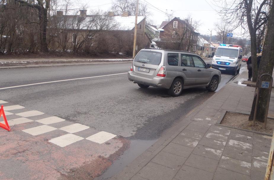 Avarija Vilniuje, Kęstučio g.