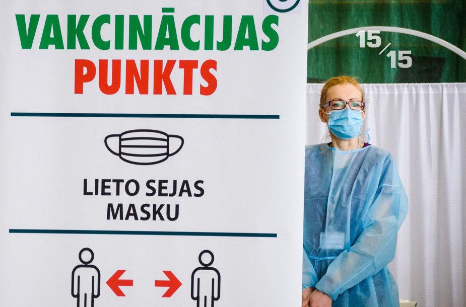 Vakcinavimo centras Latvijoje