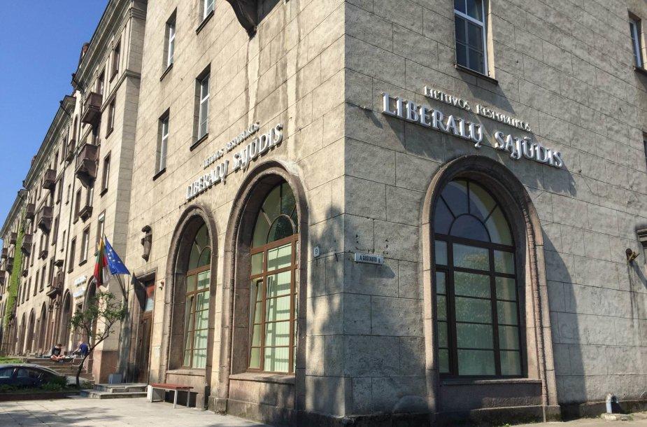 Liberalų sąjūdžio būstinė Vilniuje