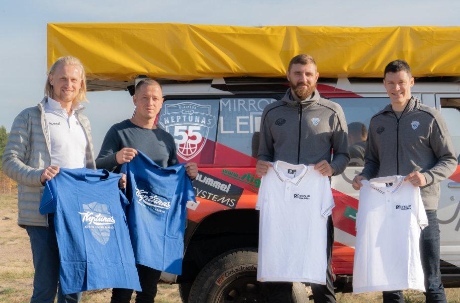 """Deividas Gailius ir Žygimantas Janavičius susitiko su """"RZGroup.lt Tour Africa"""" ekipažu"""