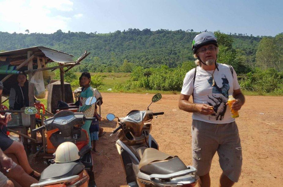 Kambodža – šalis, kurioje gyventi paprasta. Marius Duoplys sako čia radęs kitokį gyvenimą – ramų ir be rūpesčių