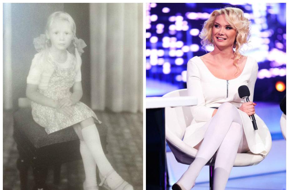 Natalija Bunkė vaikystėje ir dabar