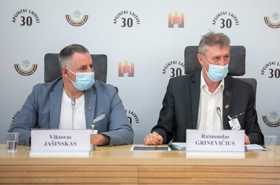 Viktoras Jašinskas ir Raimondas Grinevičius