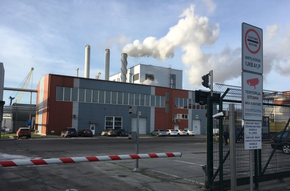 """Grigeo Klaipėda"" fabrikas uostamiestyje"
