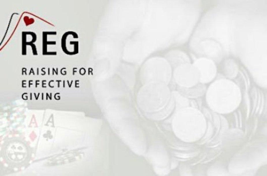 """Pokerio žaidėjų įkurta labdaros organizacija """"Raising for Effective Giving"""" (REG)"""