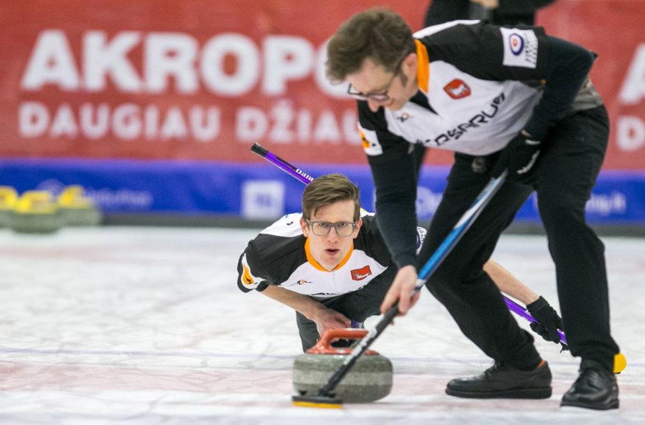 Vilniuje vyko Lietuvos kerlingo čempionatas.