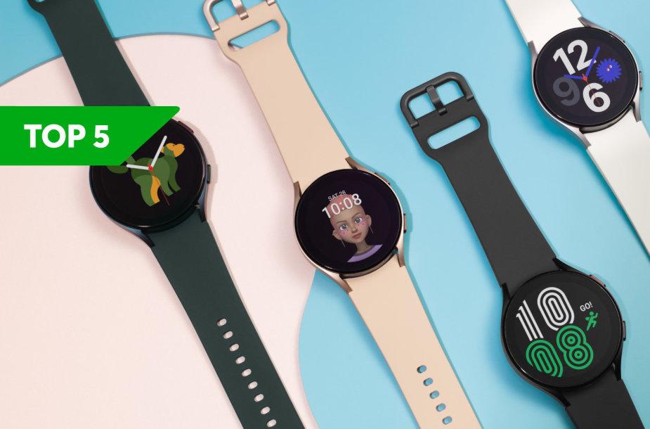 """""""Bitės Profai"""" rekomenduoja: TOP 5 geriausi išmanieji laikrodžiai"""