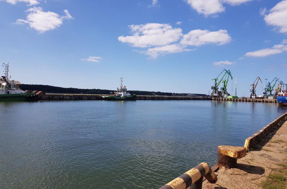 Klaipėdos uoste esantis Žiemos uostas