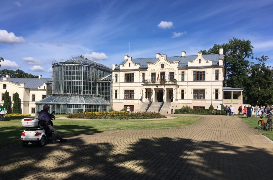 Kretingoje atkurtas visas grafų Tiškevičių rūmų ansambilis.