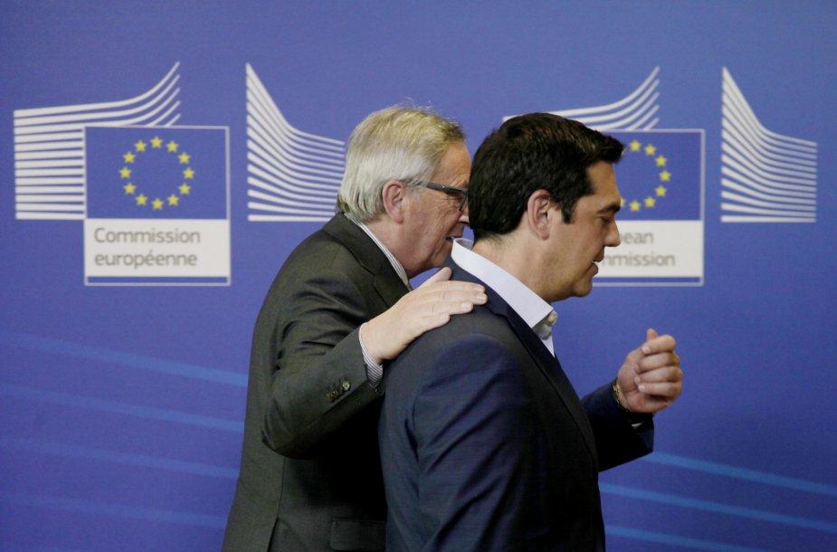 Jeanas-Claude'as Junckeris ir AleksisCipras