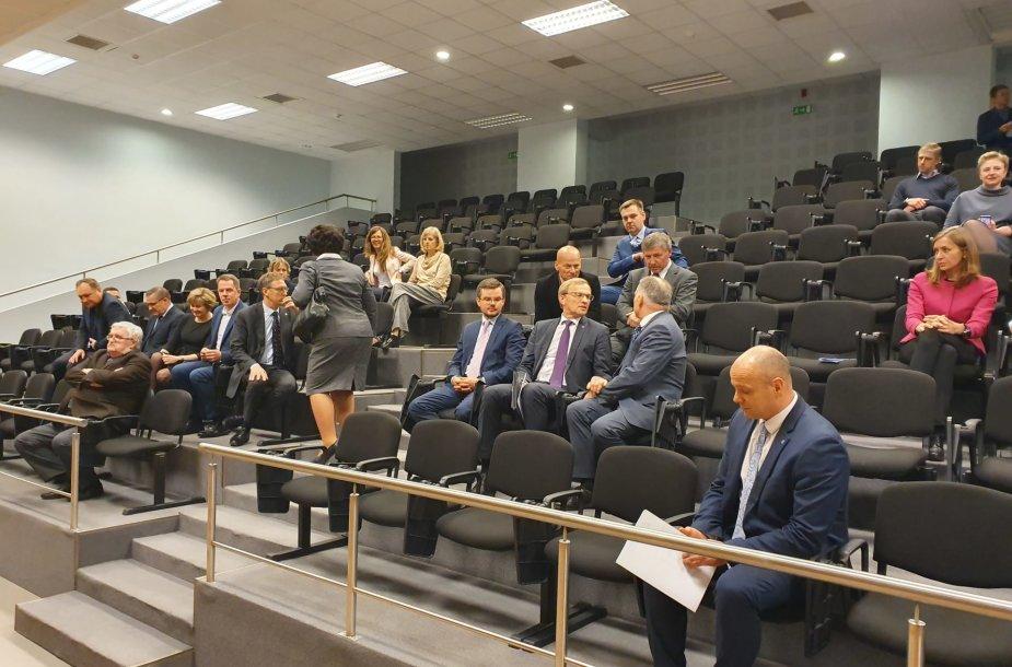 Susitikimas Vilniaus miesto apylinkės teisme