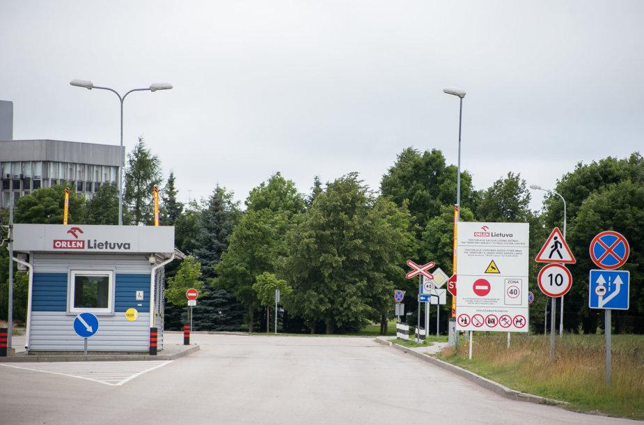 ORLEN Lietuva naftos perdirbimo gamykla