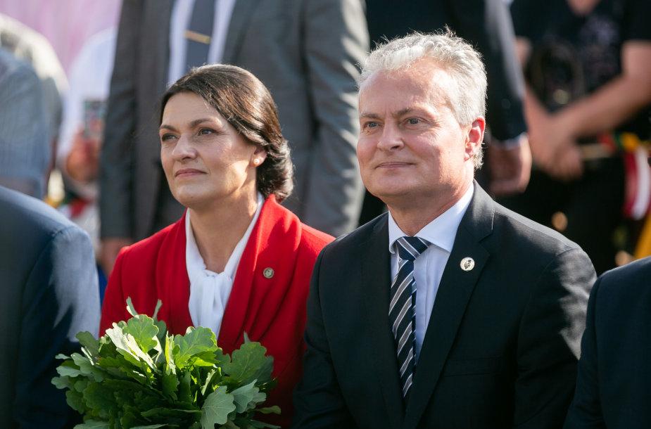 Diana Nausedienė ir Gitanas Nausėda