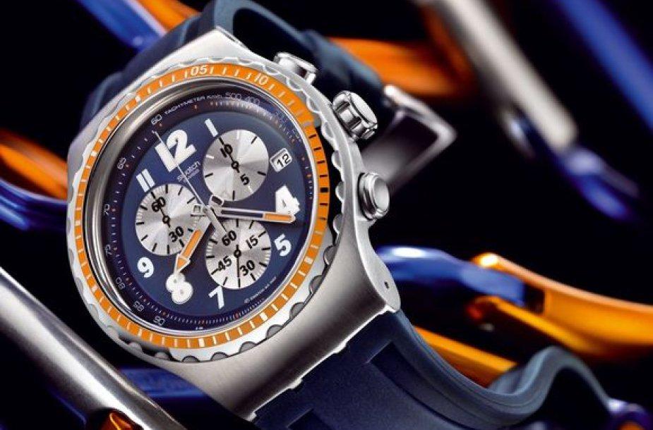 Swatch laikrodžiai atiteks trims daugiausiai balsų sulaukusiems sportininkams.