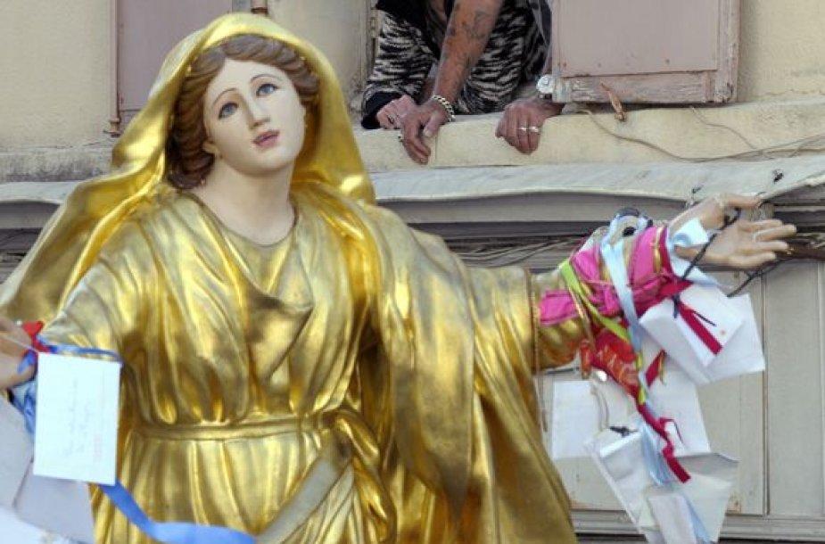 Švč.Mergelės Marijos skulptūra