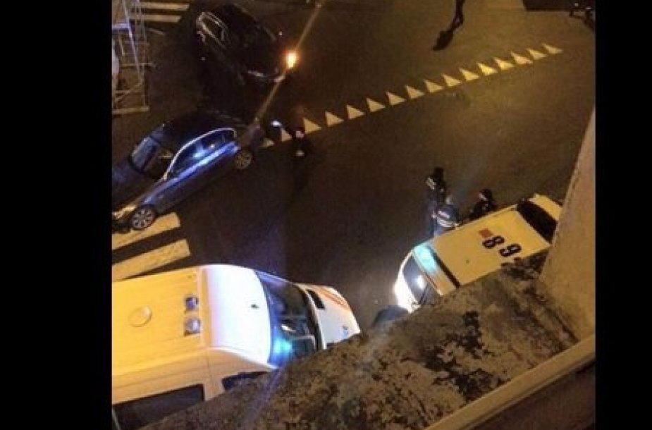 Antiteroristinė operacija Belgijoje.
