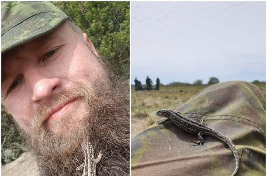 Aurimas Mockus pasijuto esąs diskriminuojamas dėl barzdos.