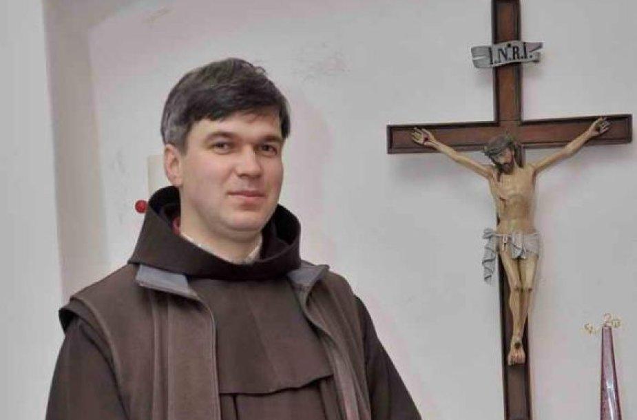 Vyskupas nominatas Genadijus Linas Vodopjanovas OFM. Telšių vyskupijos nuotrauka