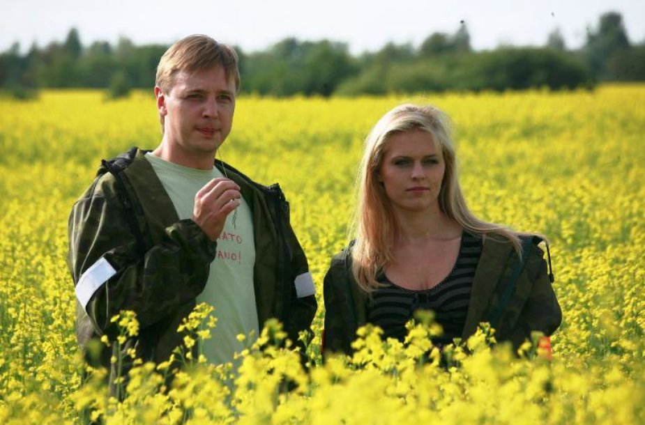 Agnė Grudytė ir Aurimas Žvinys