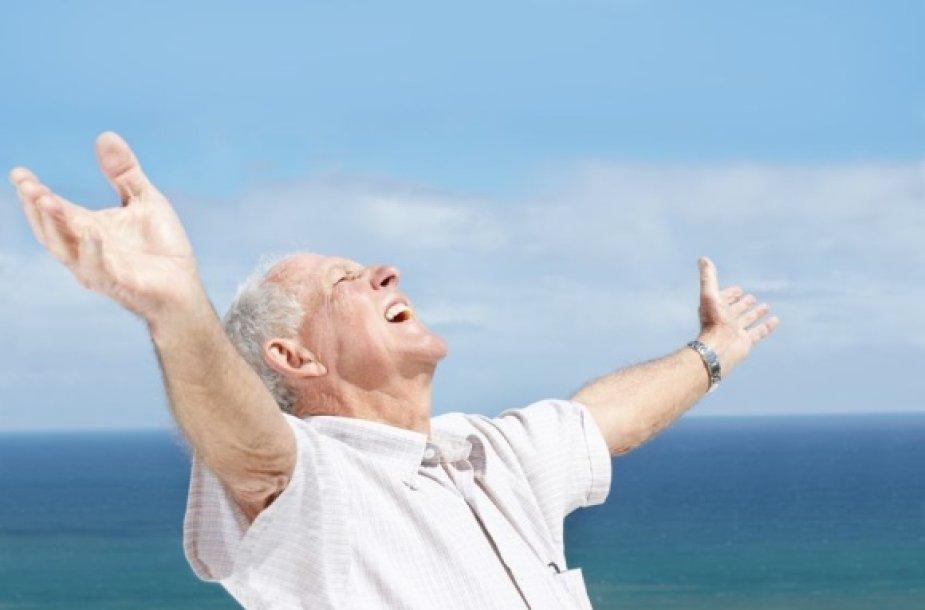 Laiminga senatvė
