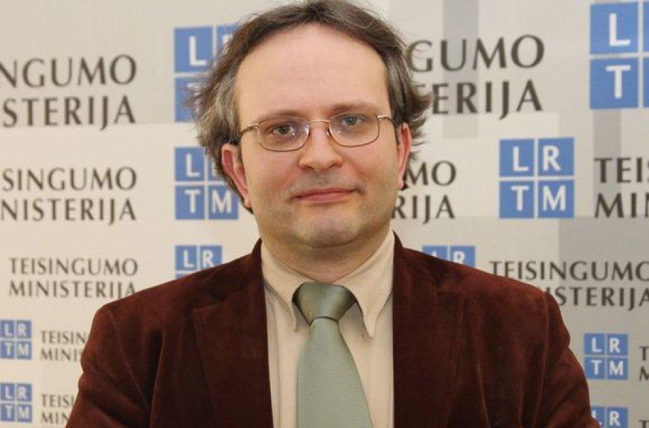 Teisingumo ministro patarėjas A.Čepas
