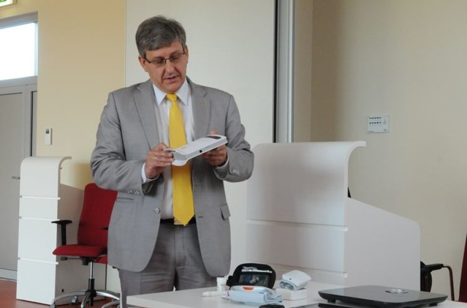 Santaros klinikų Informatikos ir plėtros centro direktorius Romualdas Kizlaitis