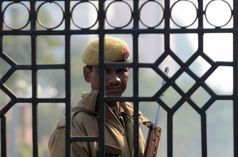 Indijos policininkas
