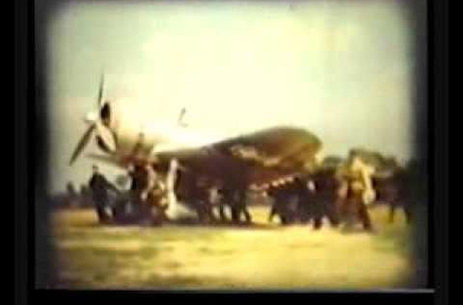 """VIDEO kadras: Antano Gustaičio """"ANBO VIII"""""""