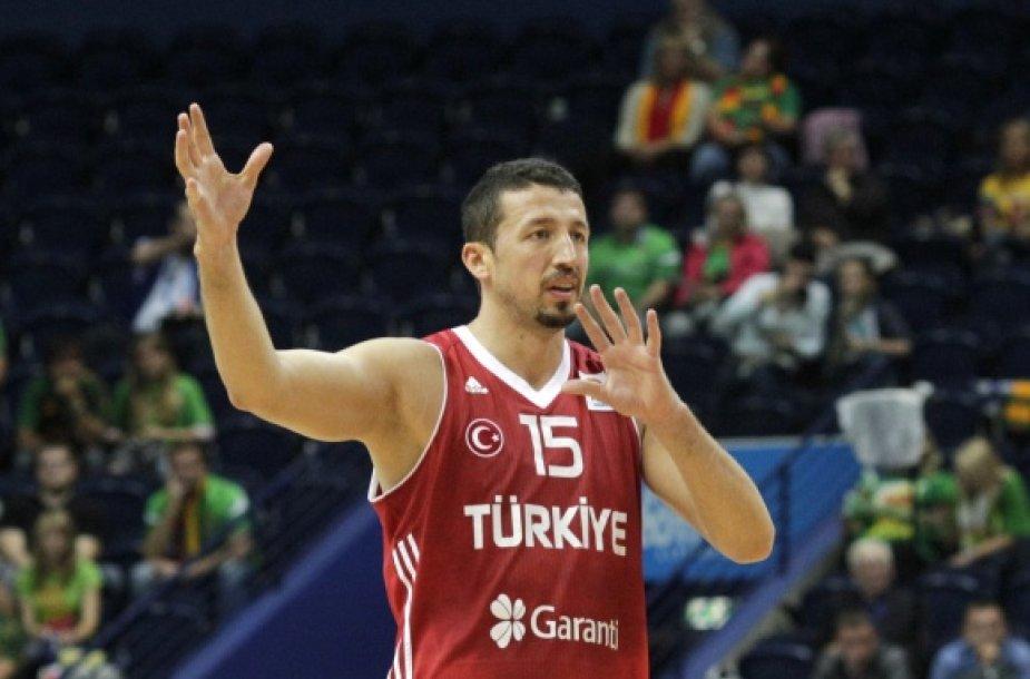 Hidayetas Turkoglu atsisveikino su Turkijos rinktine.