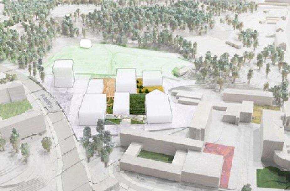 Akademinio miestelio planas