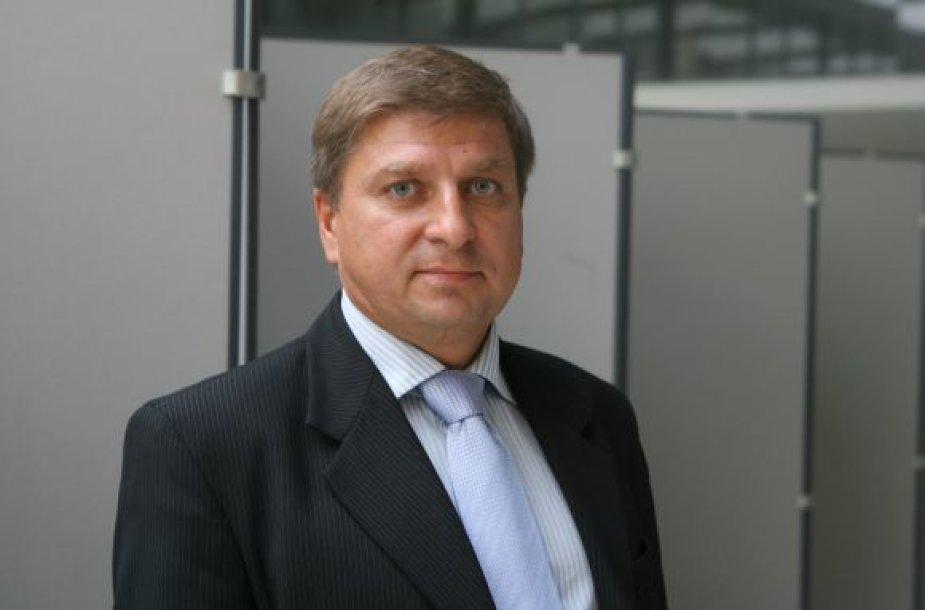 """Bendrovės """"Vilniaus vandenys"""" generalinis direktorius Darius Norkus"""