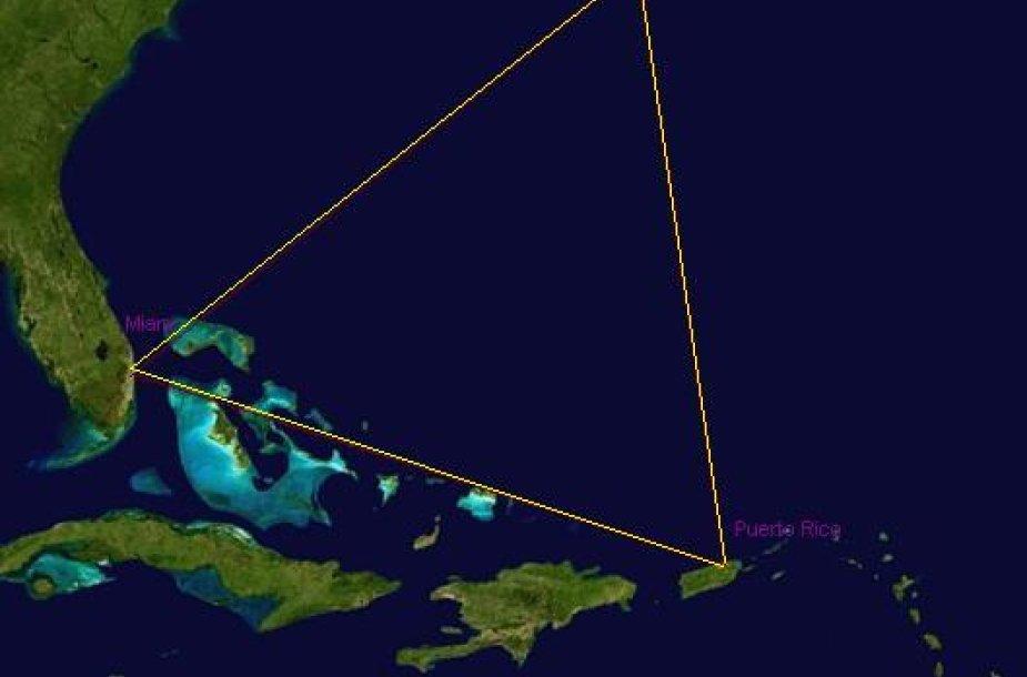Paslaptingasis Bermudų trikampis