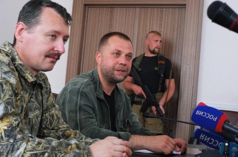 Igoris Strelkovas ir Aleksandras Borodajus