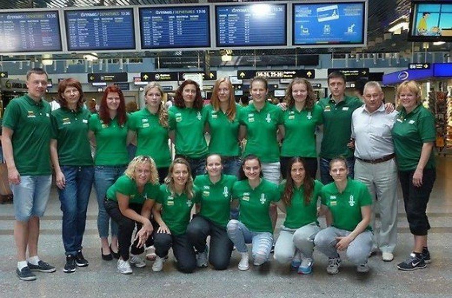 Lietuvos kurčiųjų moterų krepšinio rinktinė