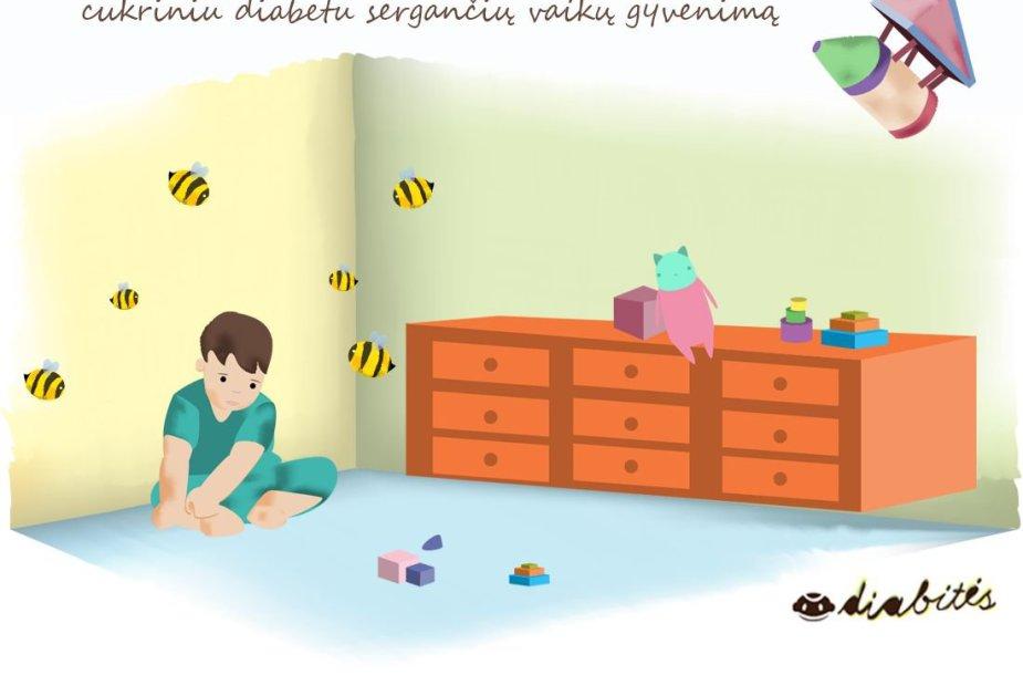 """Projektas """"Diabitės"""" keičia diabetu sergančių vaikų gyvenimą"""