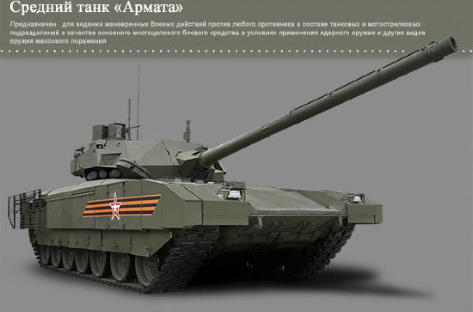 T-14 Armata tankas.