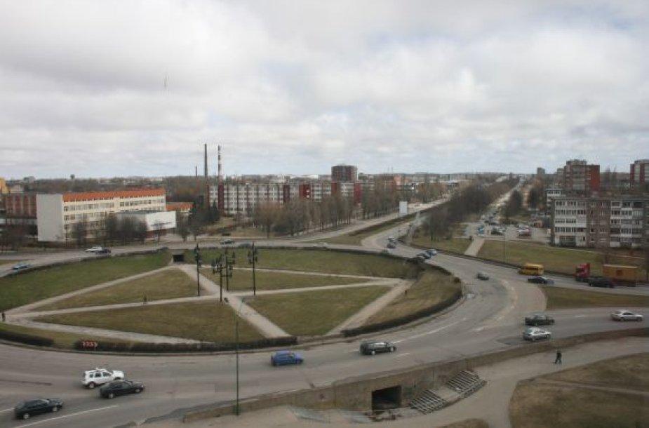 Bus naktį bus ribojamas eismas Baltijos prospekte ir dar dviejose gatvėse.