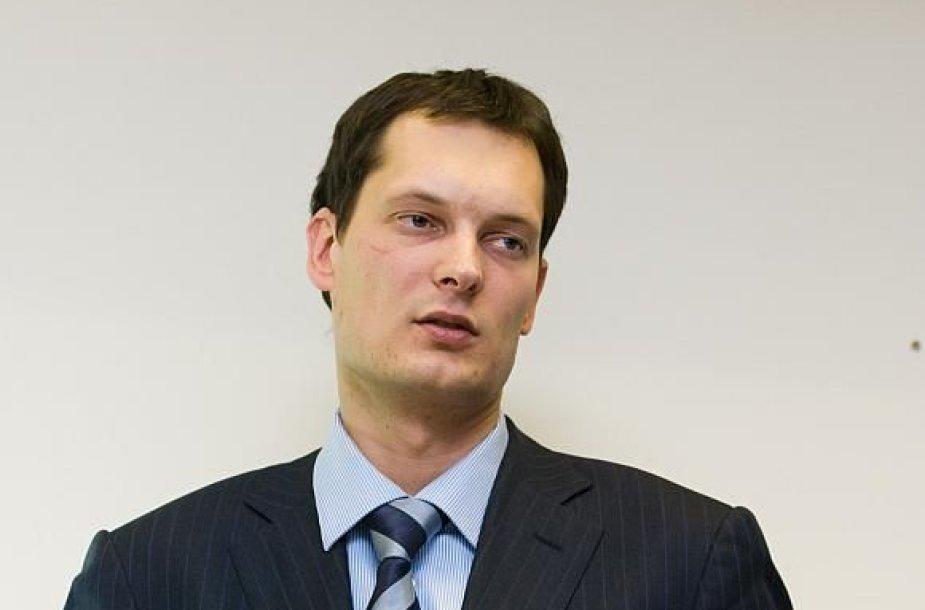 """flyLAL"" generalinis direktorius Vytautas Kaikaris"