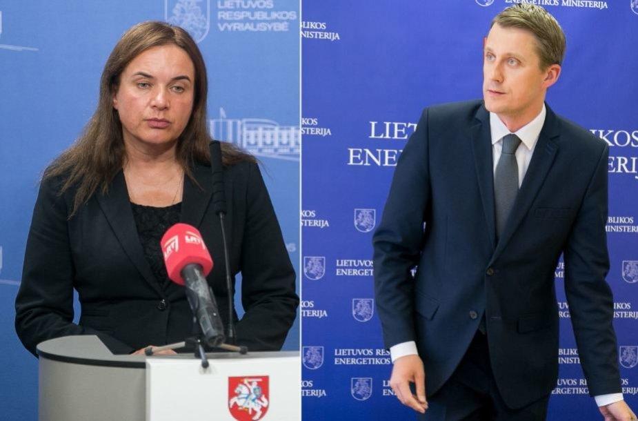 Milda Vainiutė ir Žygimantas Vaičiūnas