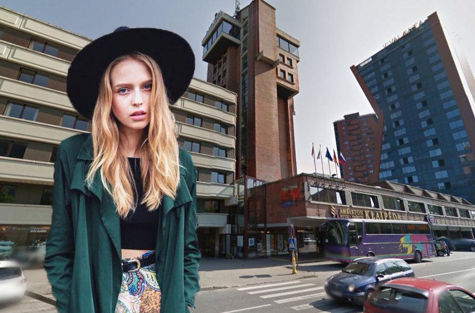 """Dovilė Didžiunaitytė ir """"Amberton Klaipėda"""" viešbutis"""