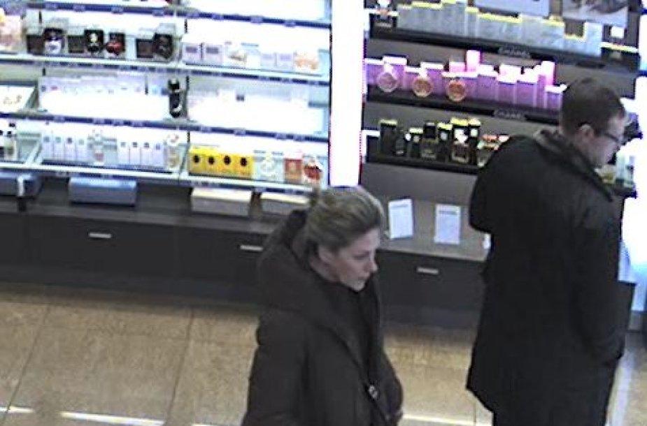 Ieškoma kvepalus pavogusi moteris