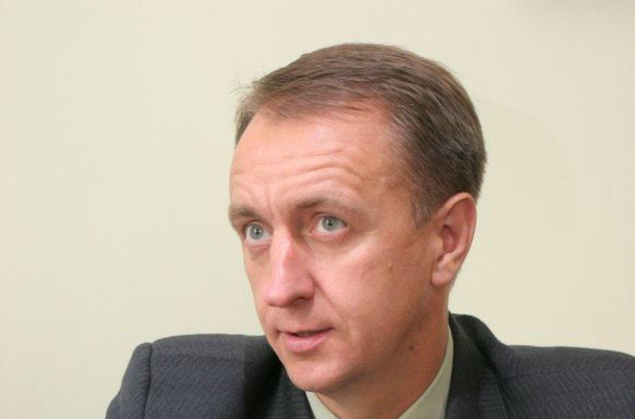 Valstybės sienos apsaugos tarnybos prie VRM vadas Saulius Stripeika