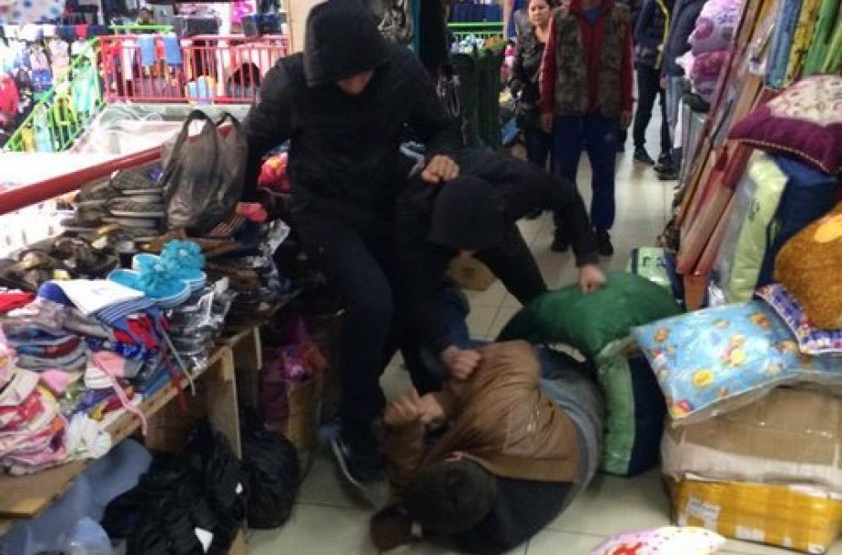 Rusijos opozicijos atstovo užpuolimas