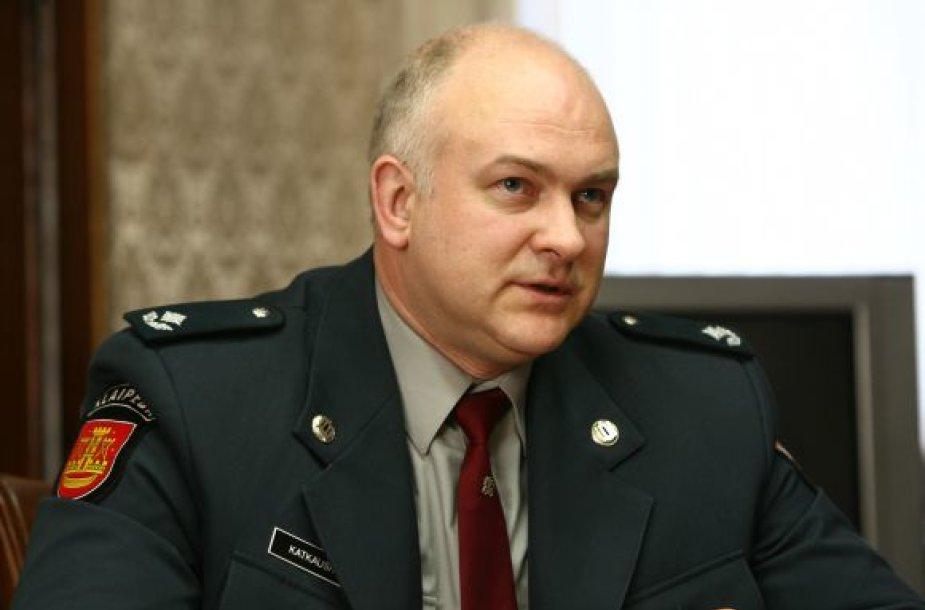 Palangos policijai vadovaus A.Katkauskas.