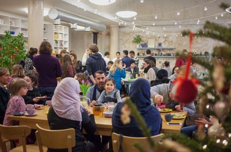 Pabėgėliams surengta ekskursija į Vilnių