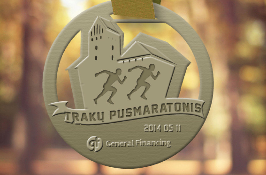 Trakų pusmarationio medalis