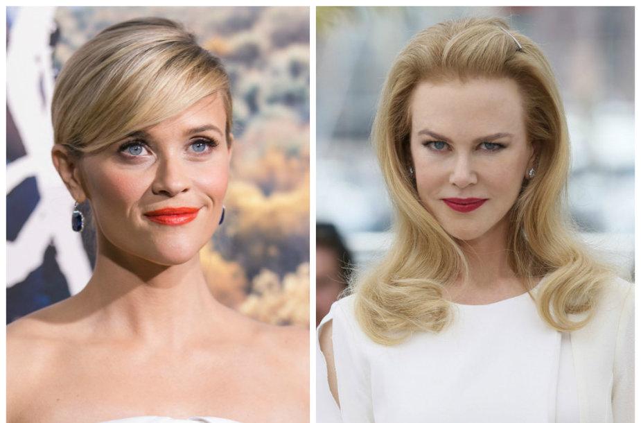 Reese Witherspoon ir Nicole Kidman