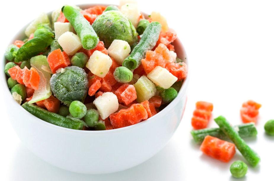 Šaldytos daržovės